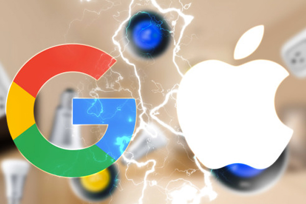 Google vs. Apple…